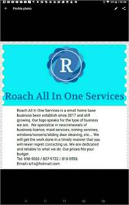 Roach All In One Services